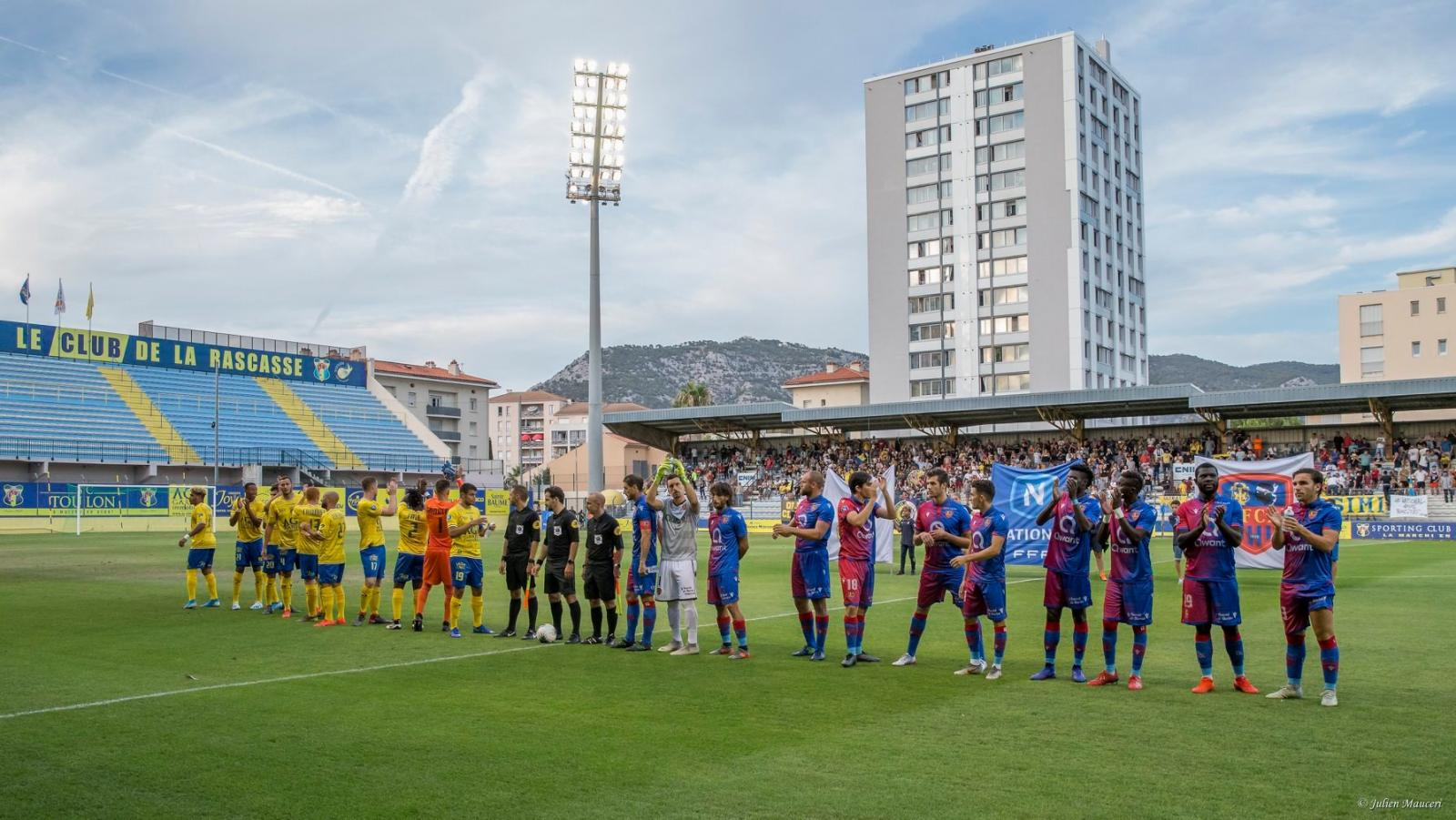 📸Revivez en images la rencontre face auGFCA - Gazélec Football Club Aiacciu(1-1) !